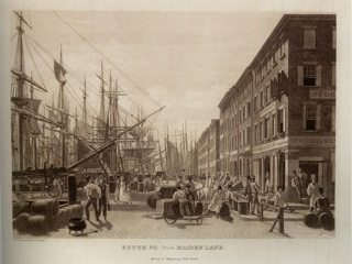 1828-ca.-South-St.-from-Maiden-Lane-Art-and-the-Empire-City-pg-451
