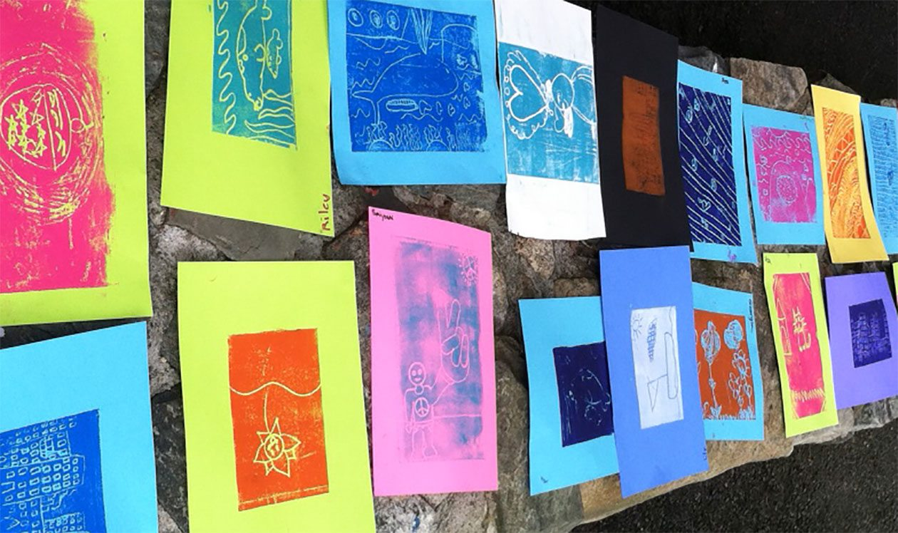 Laugh Lines: A Printmaking Workshop
