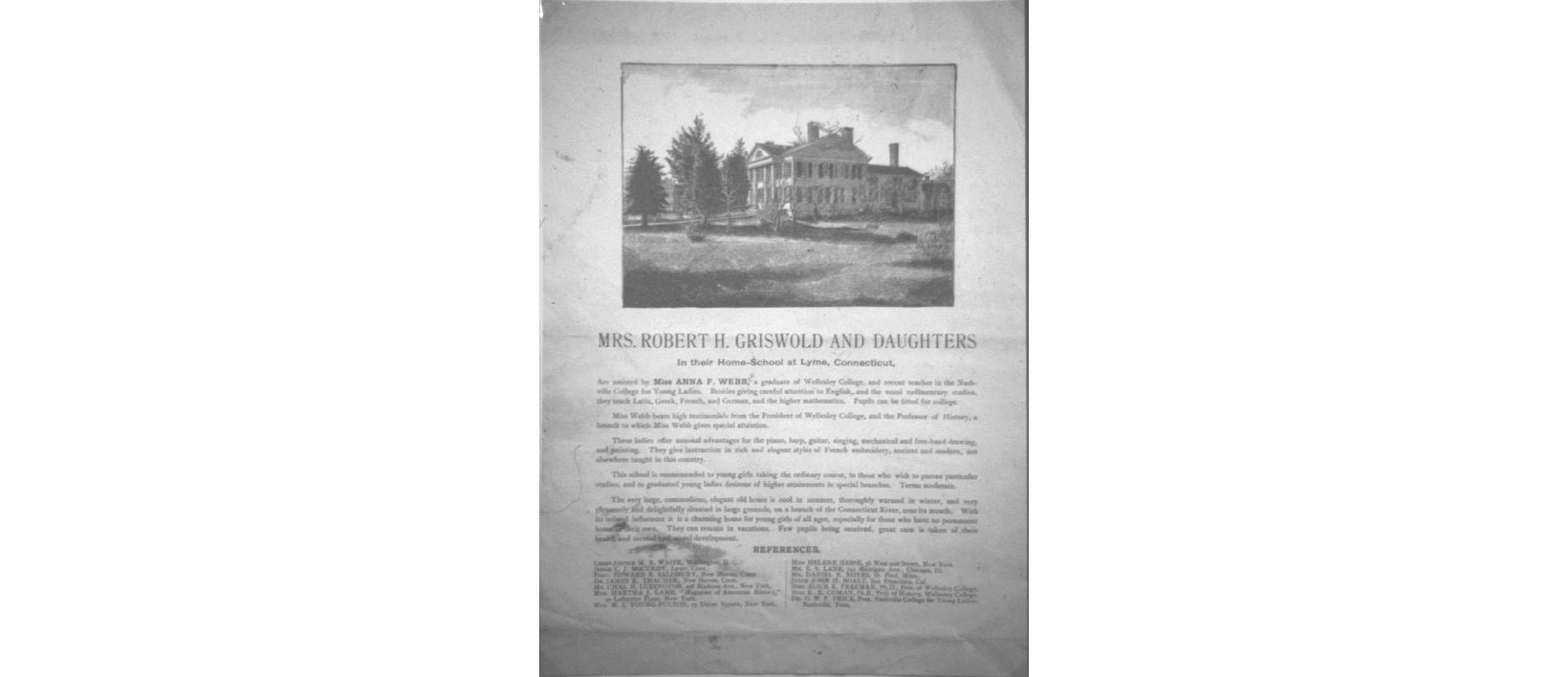 Documents: Griswold Home School, Part I–Beginnings - Florence ...
