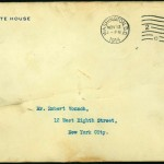 "Letters: ""My dear Mr. Vonnoh"""