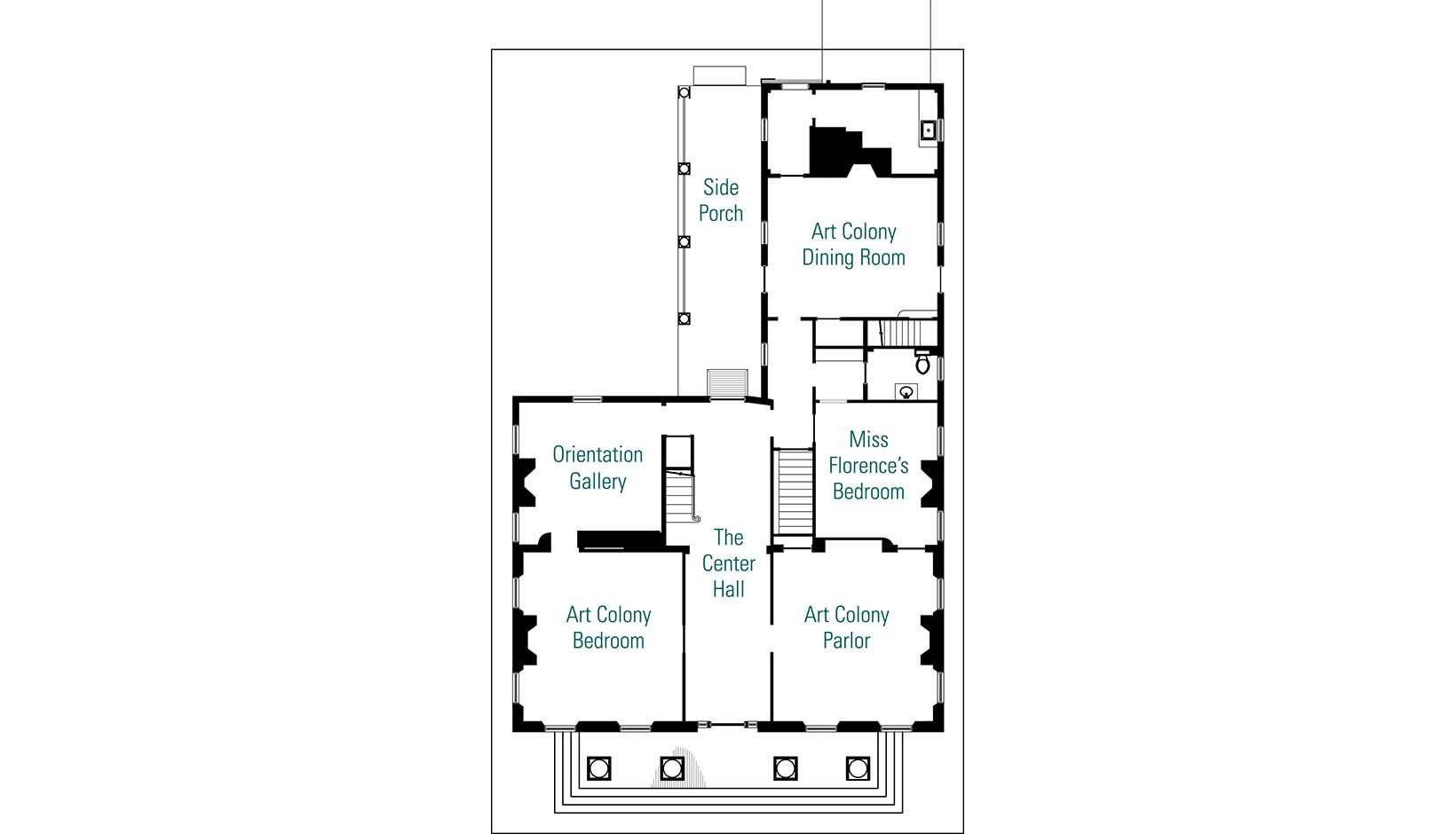 Boarding House Floor Plan Interior