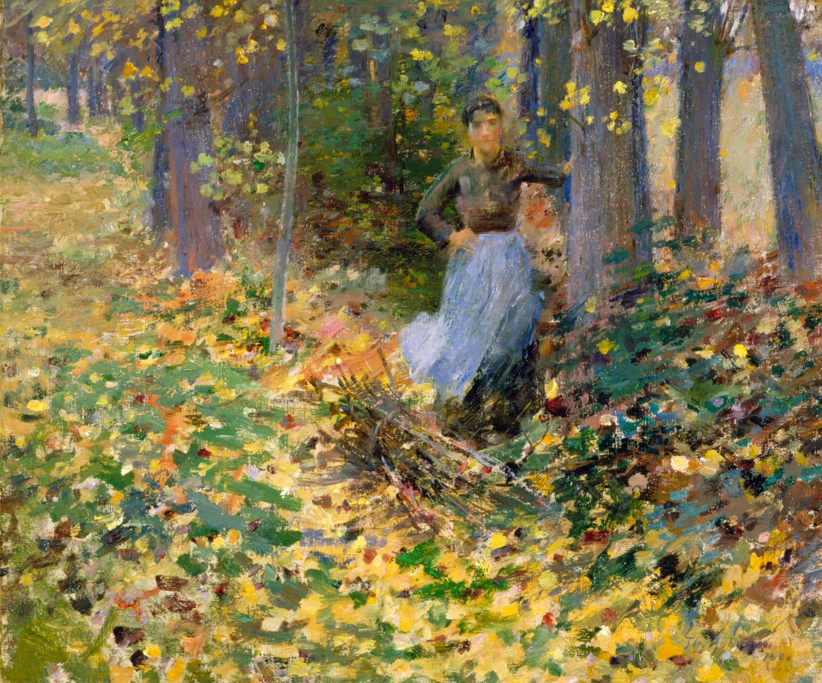 C Helen Oil Painting