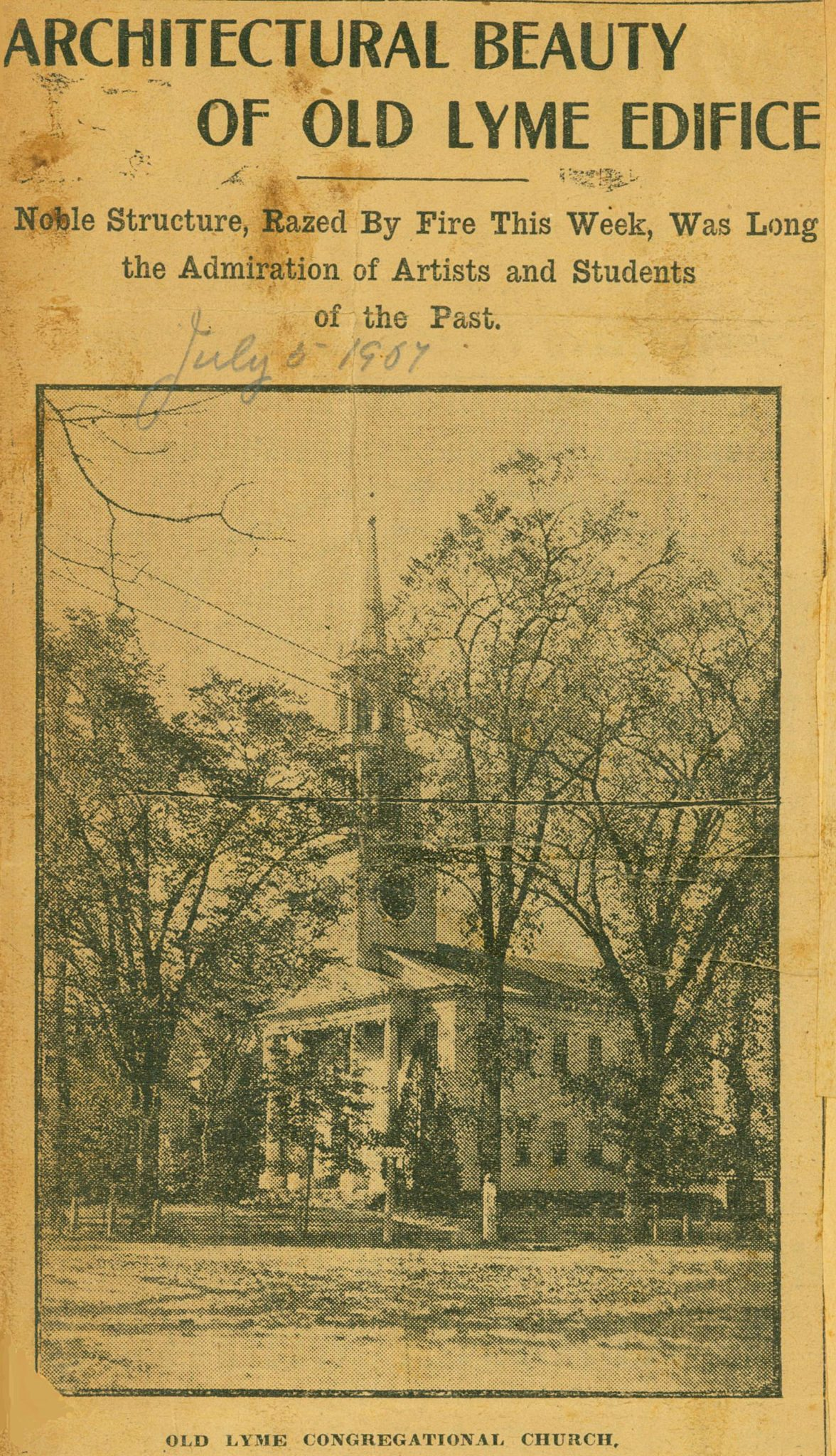 L6_2_Church_fire_clipping_NewLondonDay_1907