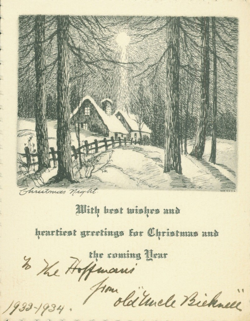 Bicknell-card
