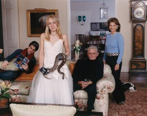 "Tina Barney, ""Family Commission with Snake,"" 2007"