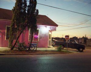 "Sophie T. Lvoff, ""Washington Avenue (Purple Rain),"" 2014"