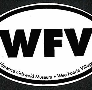 Wee Faerie Village Car Magnet