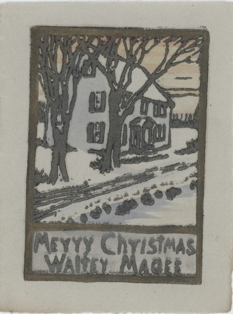 Documents: Holiday Greetings from Old Lyme's Artists