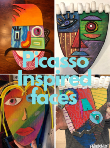 ArtReach Picasso Faces
