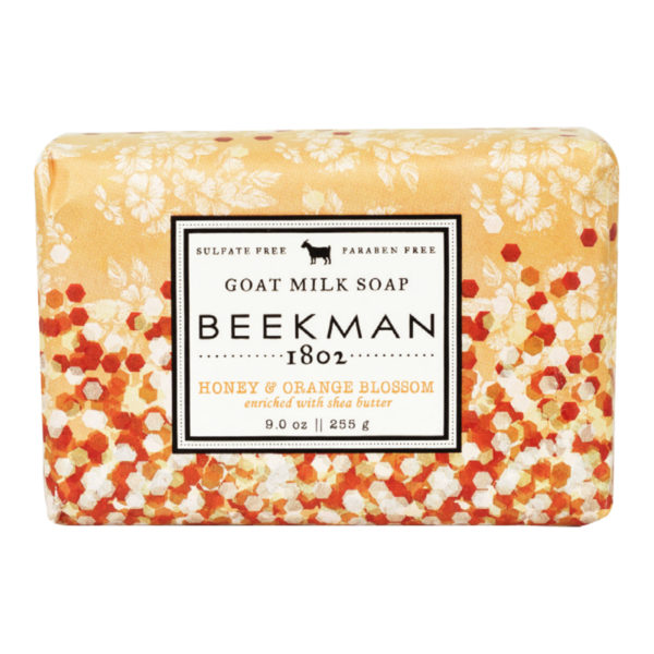 Beekman Honey & Orange Blossom Goat Milk Soap