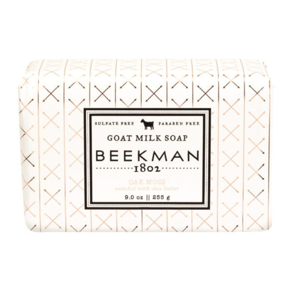 Beekman Oak Moss Goat Milk Soap