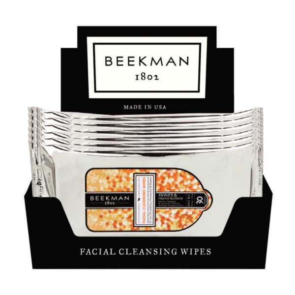 Beekman Honey & Orange Blossom Face Wipes