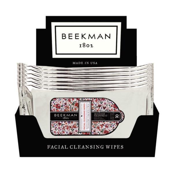 Beekman Honeyed Grapefruit Face Wipes