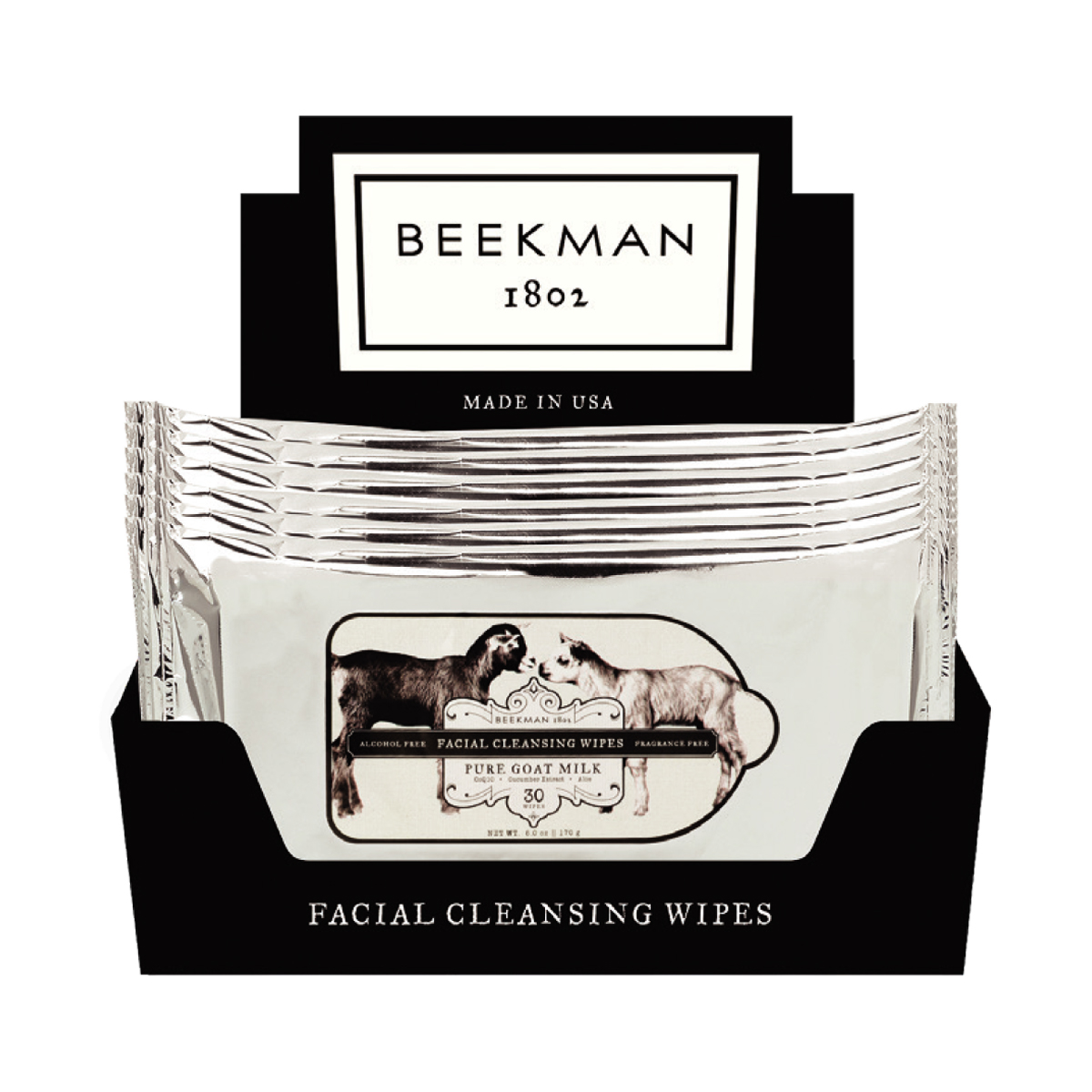 Beekman Pure Face Wipes