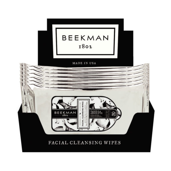 Beekman Face Wipes Vanilla