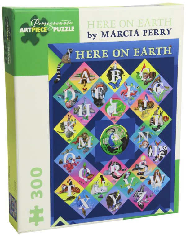 Marcia Perry Here on Earth300 Piece Jigsaw Puzzle