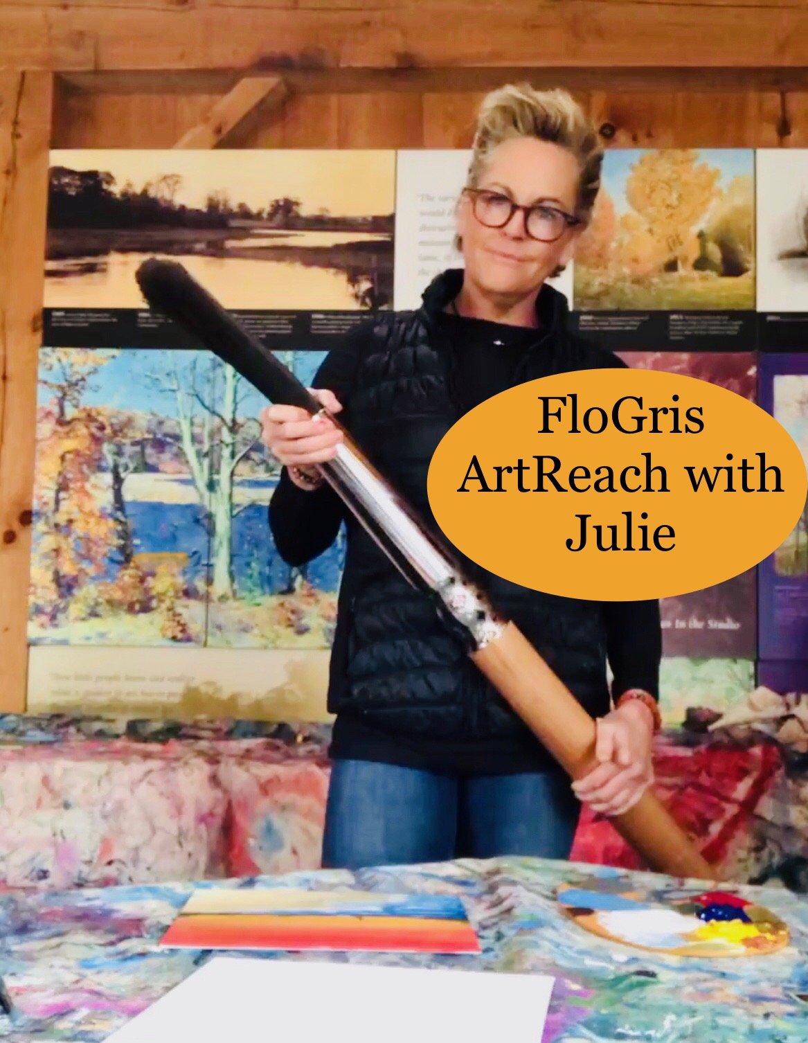 FloGris ArtReach with Julie
