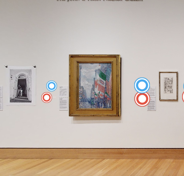 VIRTUAL tour of current exhibition