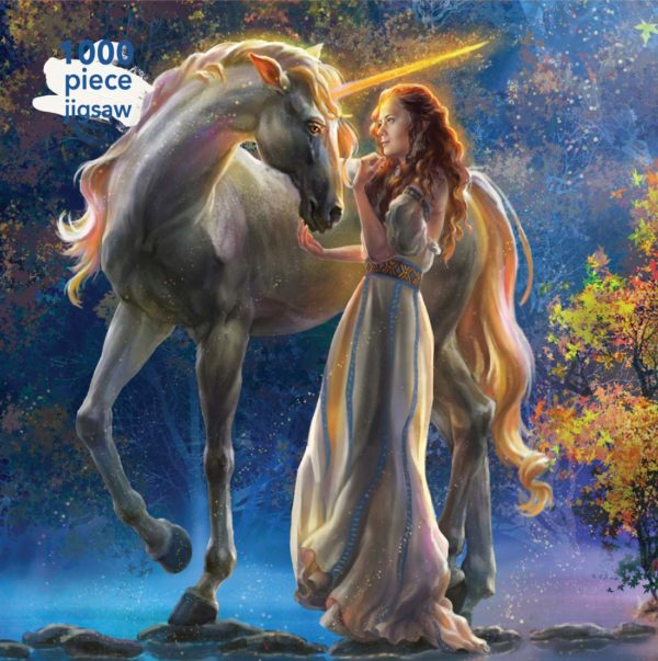 Sophia and the Unicorn 1000 Piece Jigsaw Puzzle