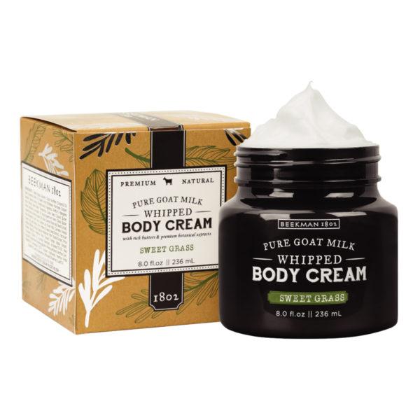 Beekman Sweet Grass Whipped Body Cream