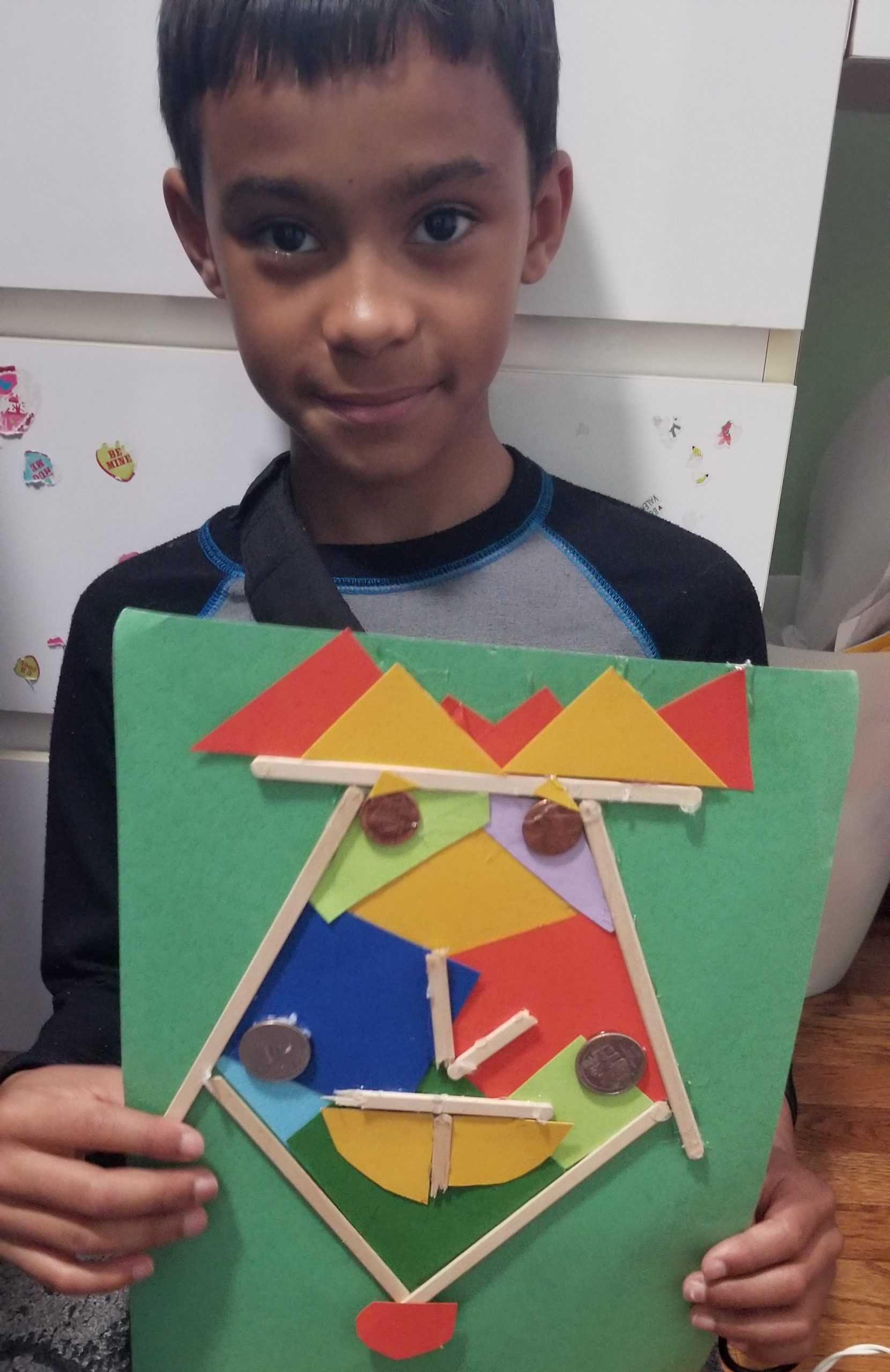 Picasso Inspired 3D Face