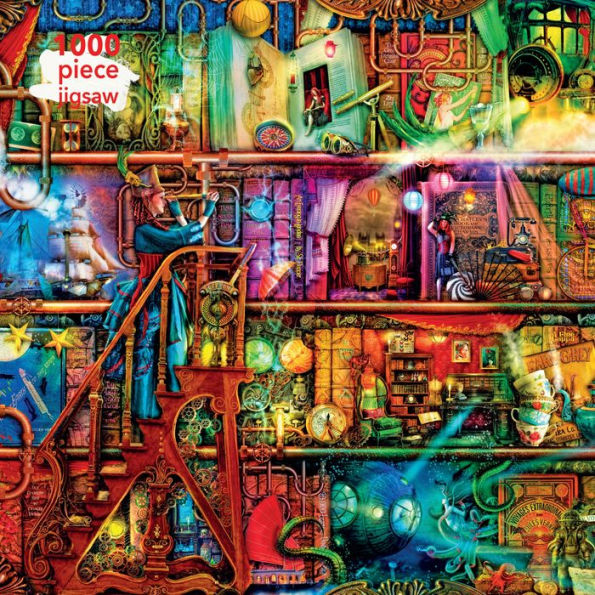 Aimee Stewart Fantastic Voyage 1000 Piece Jigsaw Puzzle