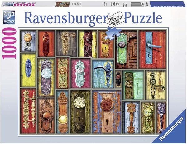 Antique Doorknobs 1000 Piece Jigsaw Puzzle