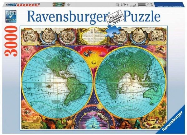 Antique Map3000 Piece Jigsaw Puzzle