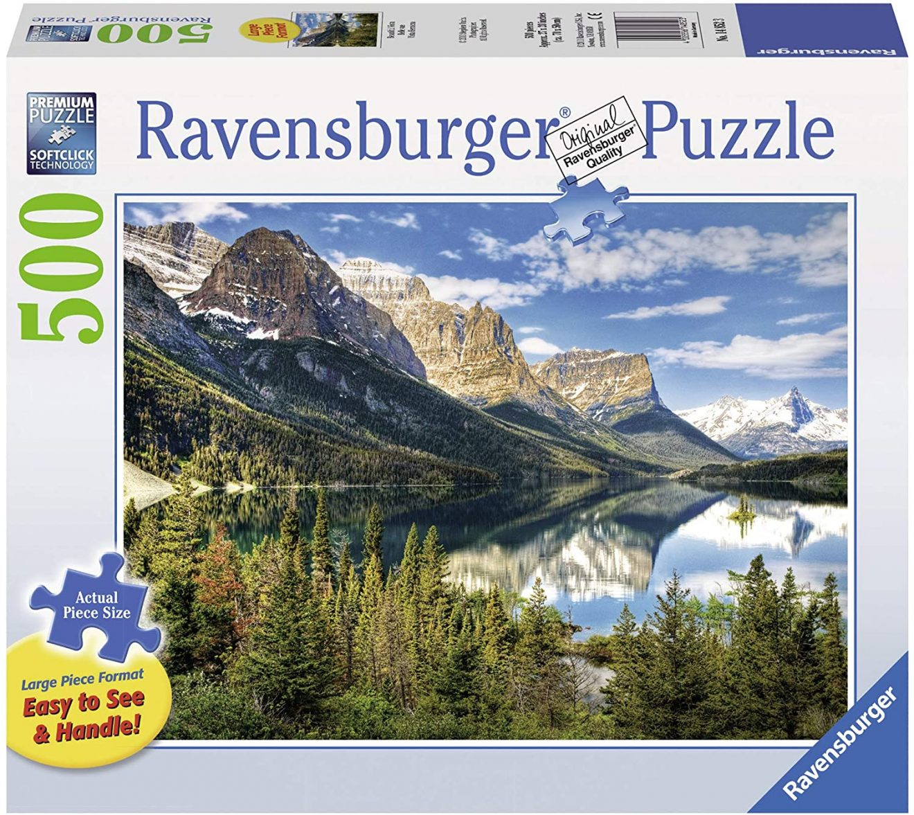 Beautiful Vista 500 Piece Jigsaw Puzzle