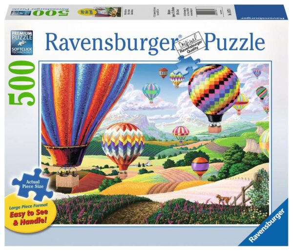 Brilliant Balloons 500 Piece Jigsaw Puzzle