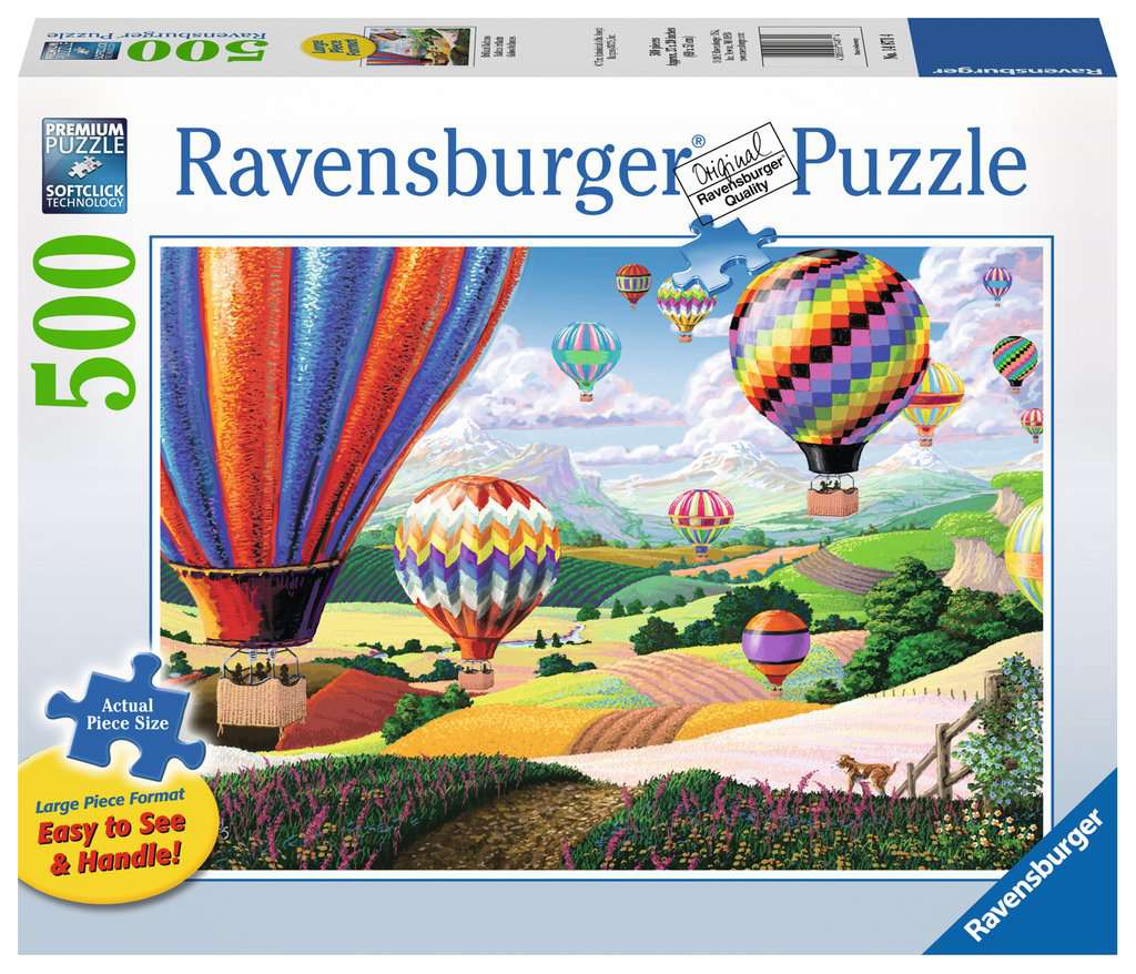 Brilliant Balloons 500 Piece Jigsaw Puzzle