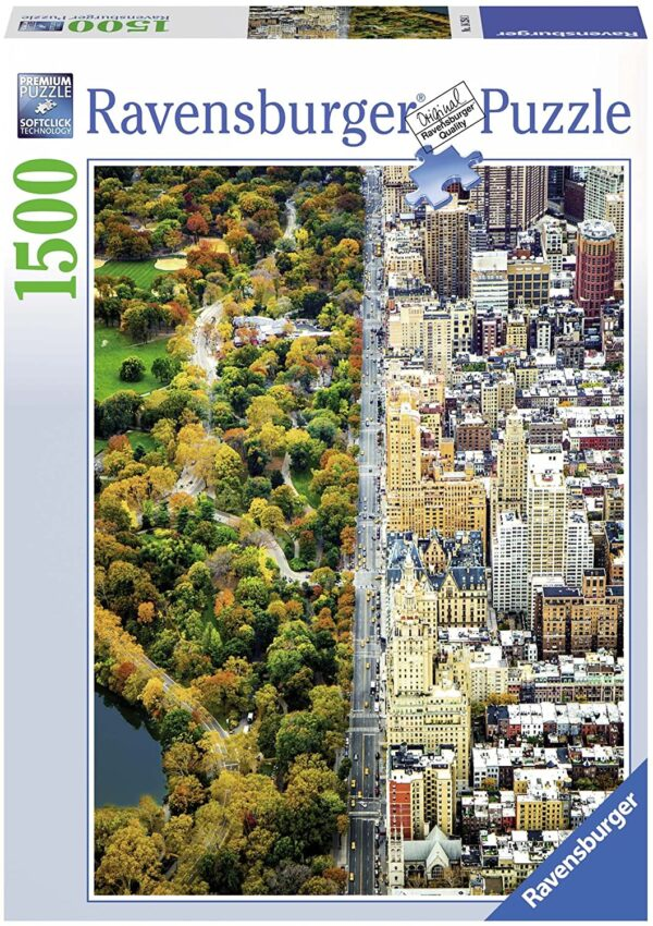 Divided Town 1500 Piece Jigsaw Puzzle