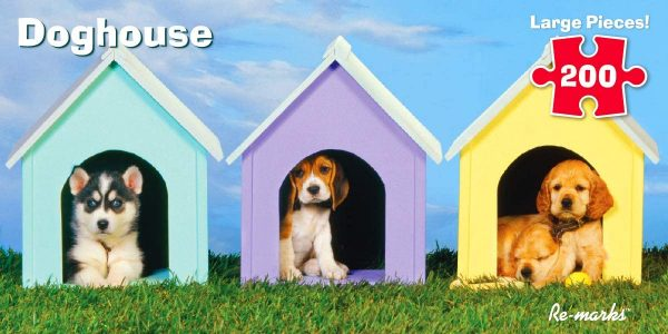 Doghouse 200 Piece Jigsaw Puzzle