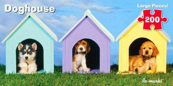 Doghouse 200 Piece Jigsaw Puzzle