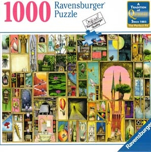 Doors Open 1000 Piece Jigsaw Puzzle