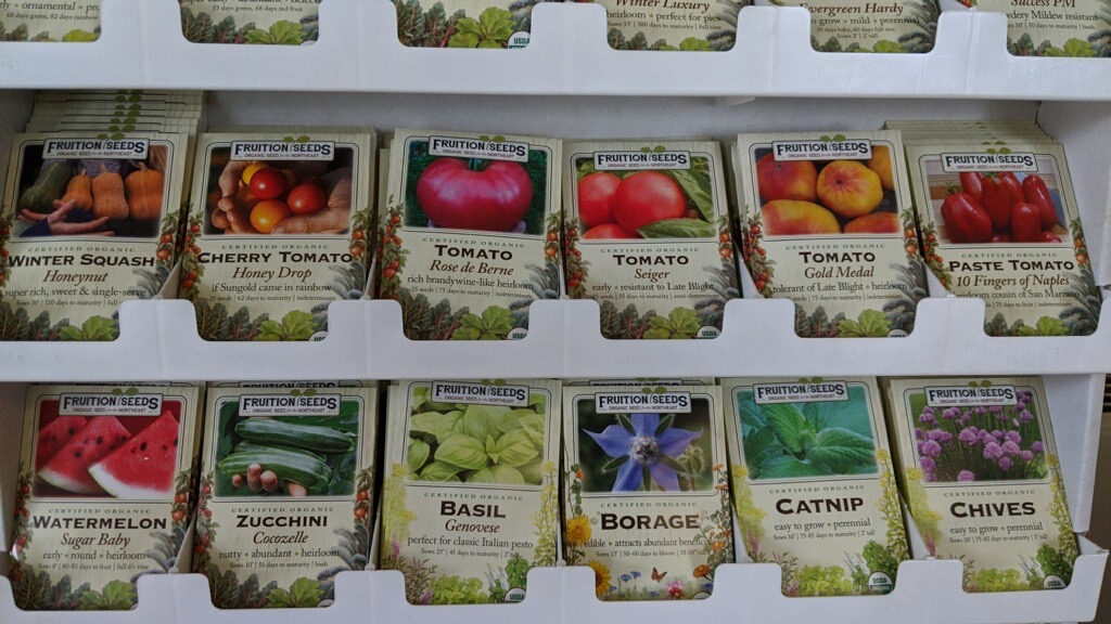 Fruition Seeds sold in shop