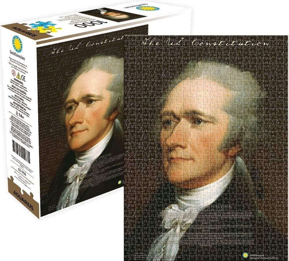 Alexander Hamilton1000 Piece Jigsaw Puzzle