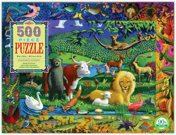 Peaceable Kingdom 500 Piece Jigsaw Puzzle