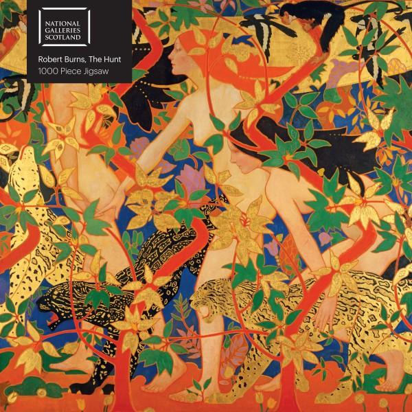 National Galleries Scotland Robert Burns The Hunt 1000 Piece Jigsaw Puzzle