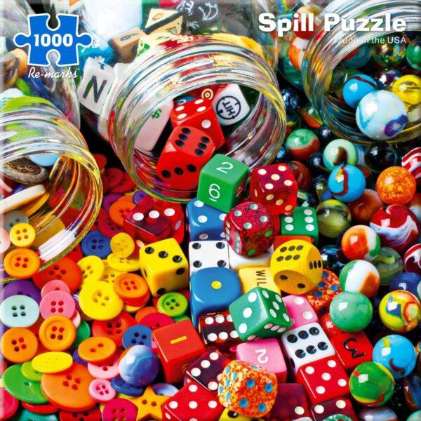 Spill 1000 Piece Jigsaw Puzzle