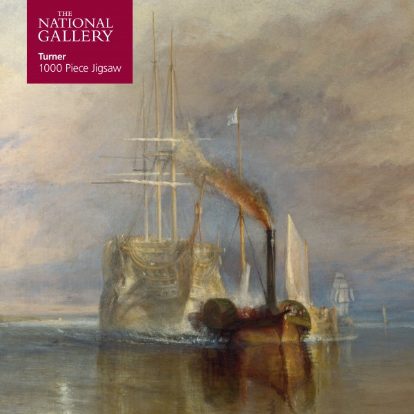 National Gallery Turner Fighting Temeraire 1000 Piece Jigsaw Puzzle