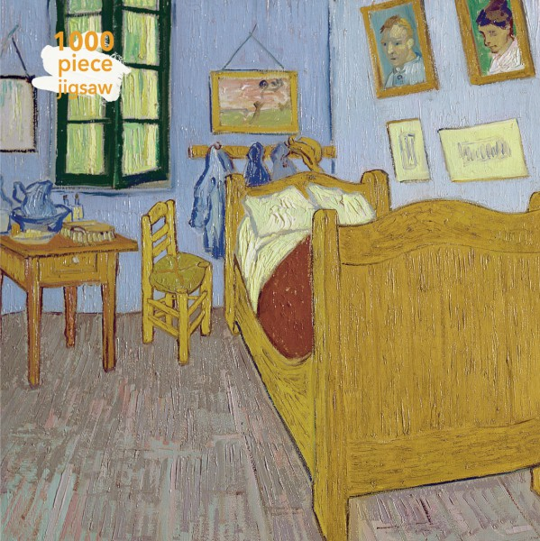 Van Gogh Bedroom at Arles 1000 Piece Jigsaw Puzzle