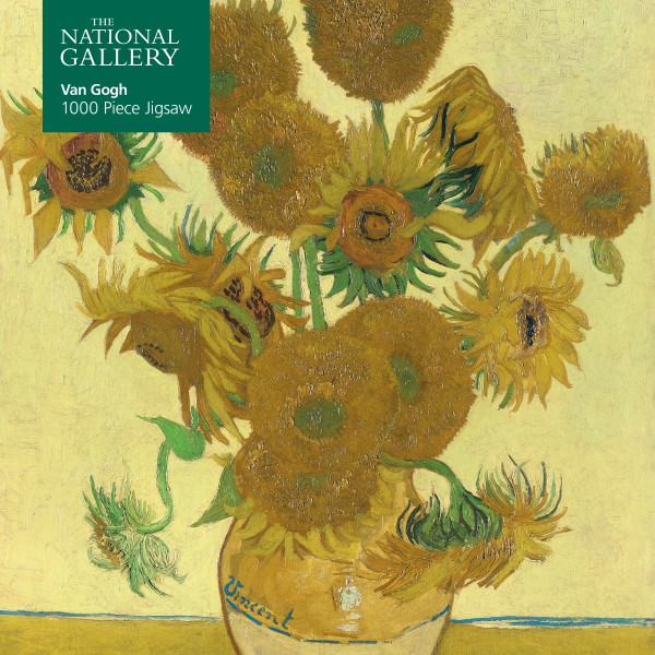 National Gallery Vincent Van Gogh Sunflowers 1000 Piece Jigsaw Puzzle