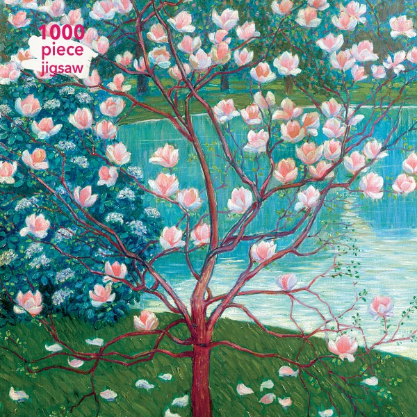 Wilhelm List Magnolia Tree 1000 Piece Jigsaw Puzzle