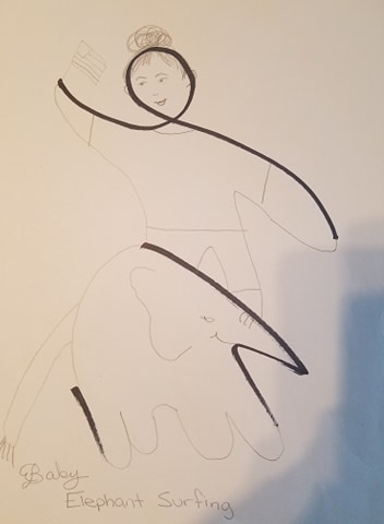 Annie W's Wiggle Drawing