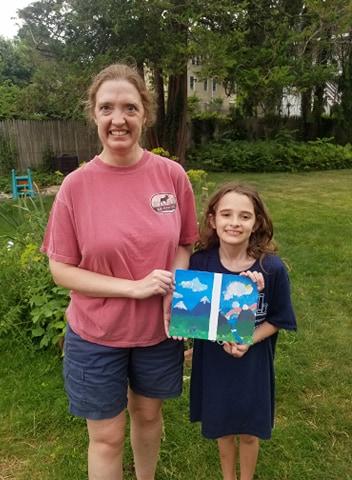 Kristen and Annie W's Landscape Challenge