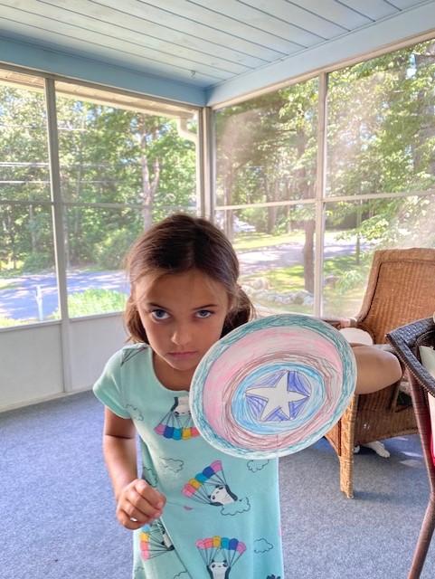 Lily H's Captain America Shield