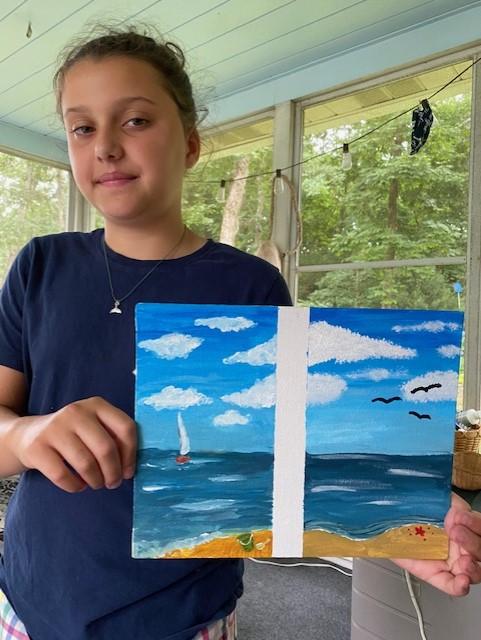 Elizabeth H's Partner Painting
