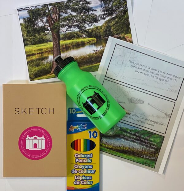 Plein Air Sketchbook Kit for sale in The Shop