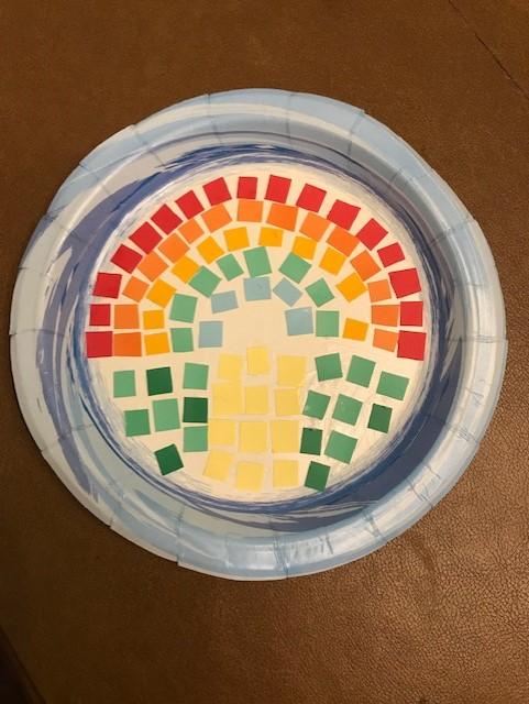 Maewyn Griswold's Mosaic Rainbow